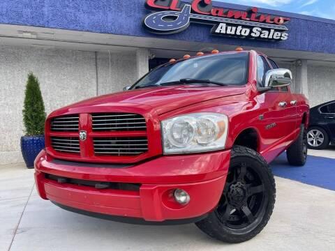 2007 Dodge Ram Pickup 1500 for sale at El Camino Auto Sales Gainesville in Gainesville GA