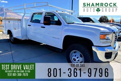 2018 GMC Sierra 3500HD for sale at Shamrock Group LLC #1 in Pleasant Grove UT