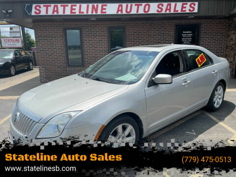 2010 Mercury Milan for sale at Stateline Auto Sales in South Beloit IL