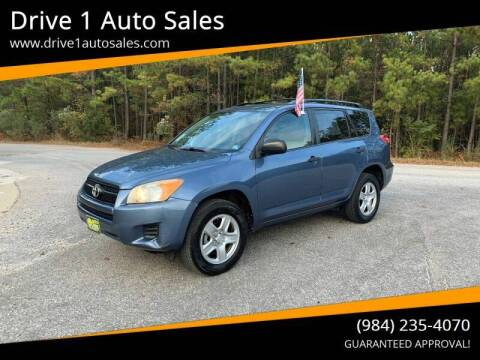2010 Toyota RAV4 for sale at Drive 1 Auto Sales in Wake Forest NC