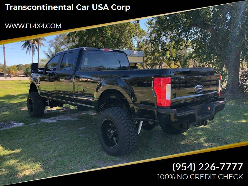 2017 Ford F-250 Super Duty 4x4 King Ranch 4dr Crew Cab 6.8 ft. SB Pickup - Fort Lauderdale FL