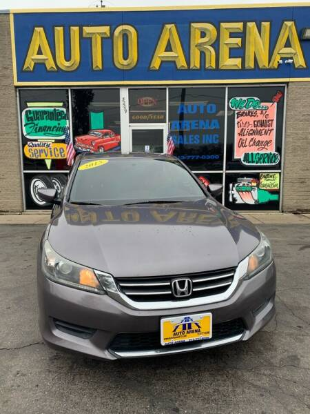 2015 Honda Accord for sale at Auto Arena in Fairfield OH