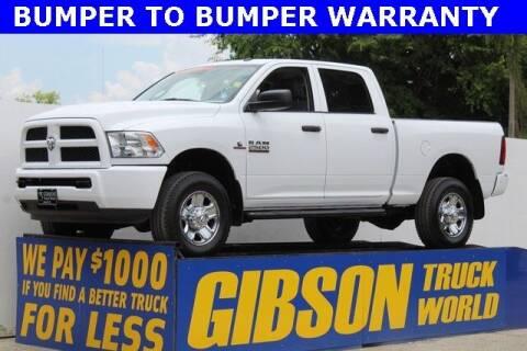 2017 RAM Ram Pickup 2500 for sale at Gibson Truck World in Sanford FL