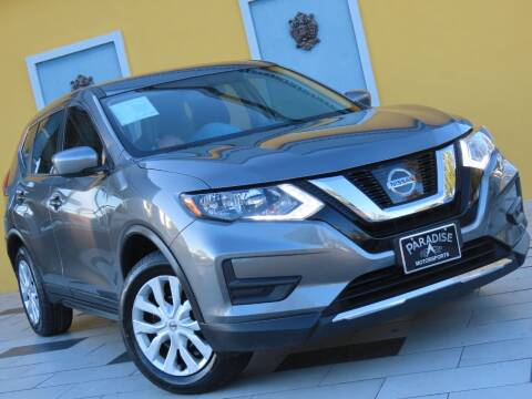2017 Nissan Rogue for sale at Paradise Motor Sports LLC in Lexington KY