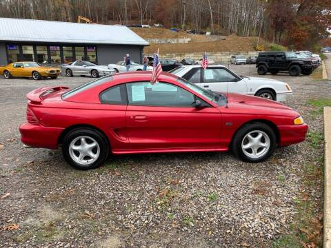 1994 Ford Mustang for sale at Edward Colosimo Auto Sales and Service in Evans City PA