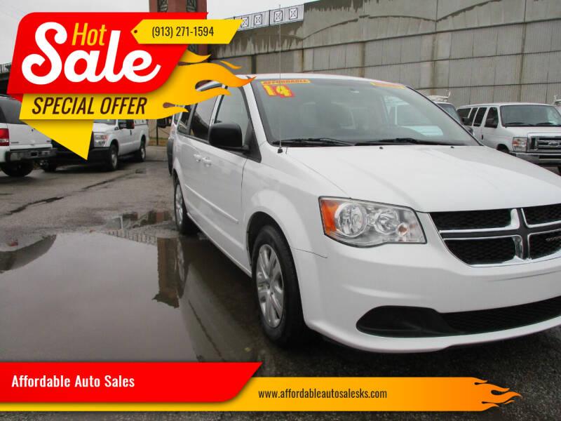 2014 Dodge Grand Caravan for sale at Affordable Auto Sales in Olathe KS