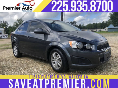 2012 Chevrolet Sonic for sale at Premier Auto Wholesale in Baton Rouge LA