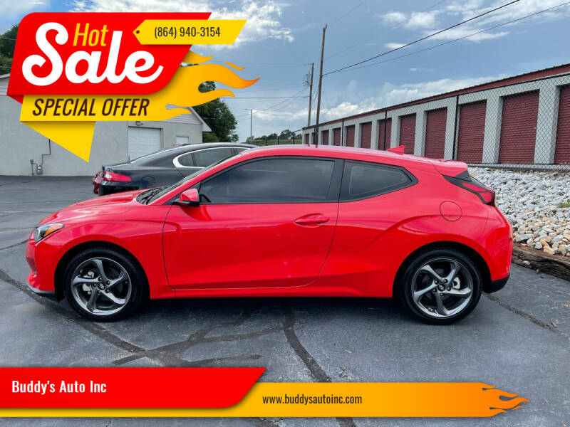 2021 Hyundai Veloster for sale at Buddy's Auto Inc in Pendleton, SC