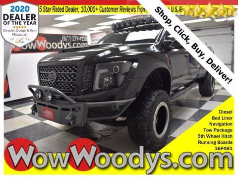 2016 Nissan Titan XD for sale at WOODY'S AUTOMOTIVE GROUP in Chillicothe MO