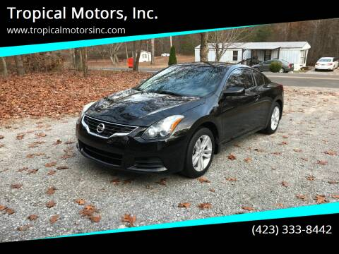 2012 Nissan Altima for sale at Tropical Motors, Inc. in Riceville TN