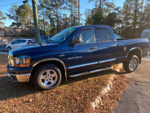 2007 Dodge Ram Pickup 1500 for sale at TOP OF THE LINE AUTO SALES in Fayetteville NC
