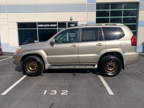 2003 Lexus GX 470 for sale at Euro Auto Sport in Chantilly VA