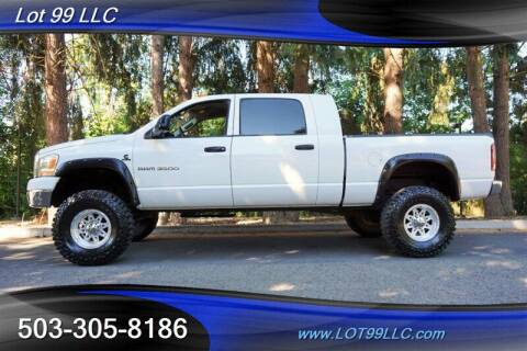 2006 Dodge Ram Pickup 3500 for sale at LOT 99 LLC in Milwaukie OR