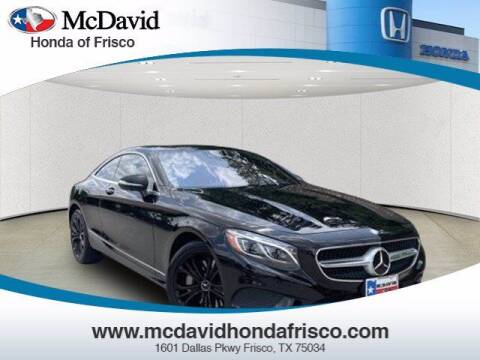 2015 Mercedes-Benz S-Class for sale at DAVID McDAVID HONDA OF IRVING in Irving TX