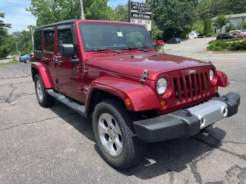 2013 Jeep Wrangler Unlimited for sale at Premier Automart in Milford MA