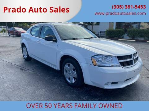 2008 Dodge Avenger for sale at Prado Auto Sales in Miami FL