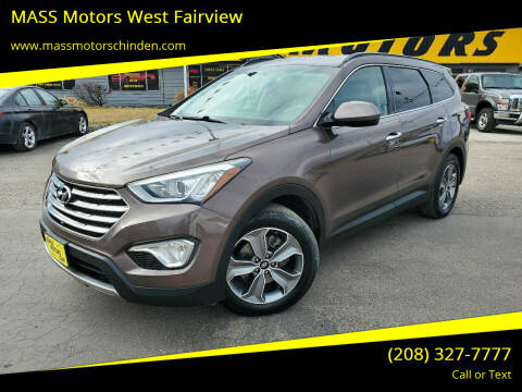 2015 Hyundai Santa Fe for sale at MASS Motors West Fairview in Boise ID