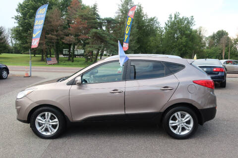 2012 Hyundai Tucson for sale at GEG Automotive in Gilbertsville PA