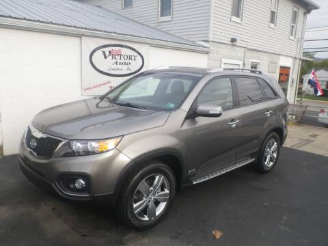 2013 Kia Sorento for sale at VICTORY AUTO in Lewistown PA