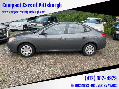 2007 Hyundai Elantra for sale at Compact Cars of Pittsburgh in Pittsburgh PA