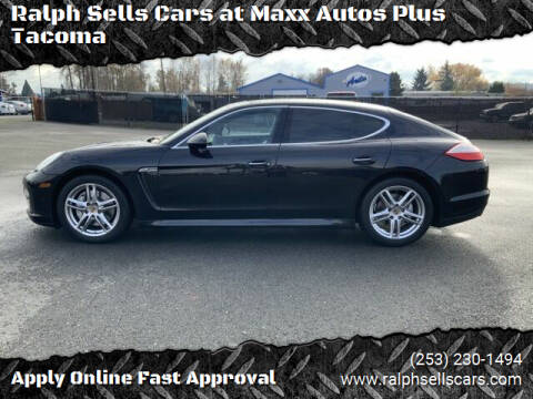 2010 Porsche Panamera for sale at Ralph Sells Cars at Maxx Autos Plus Tacoma in Tacoma WA