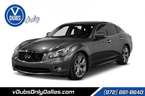 2012 Infiniti M56 for sale at VDUBS ONLY in Dallas TX