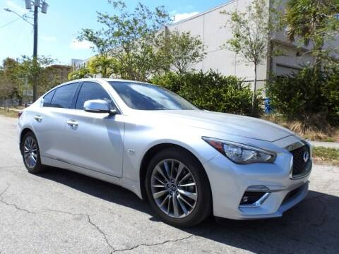 2018 Infiniti Q50 for sale at SUPER DEAL MOTORS in Hollywood FL