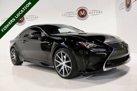 2015 Lexus RC 350 for sale at Unlimited Motors in Fishers IN