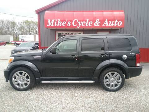 2010 Dodge Nitro for sale at MIKE'S CYCLE & AUTO in Connersville IN