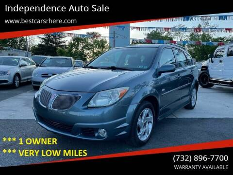2006 Pontiac Vibe for sale at Independence Auto Sale in Bordentown NJ