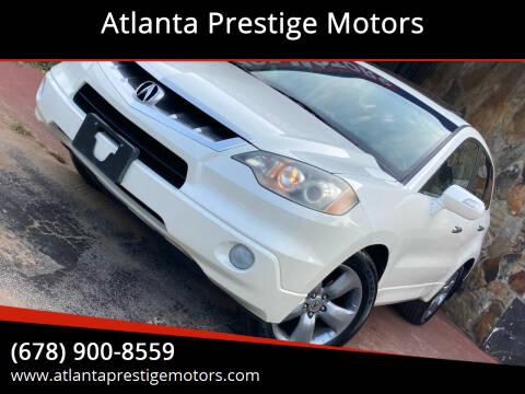 2007 Acura RDX for sale at Atlanta Prestige Motors in Decatur GA