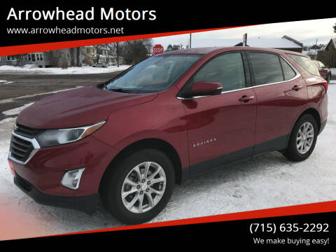 2019 Chevrolet Equinox for sale at Arrowhead Motors in Spooner WI