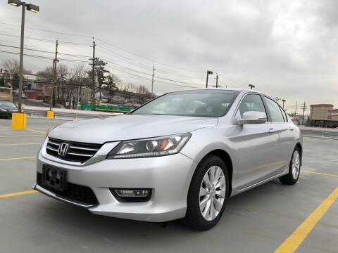 2013 Honda Accord for sale at JG Auto Sales in North Bergen NJ