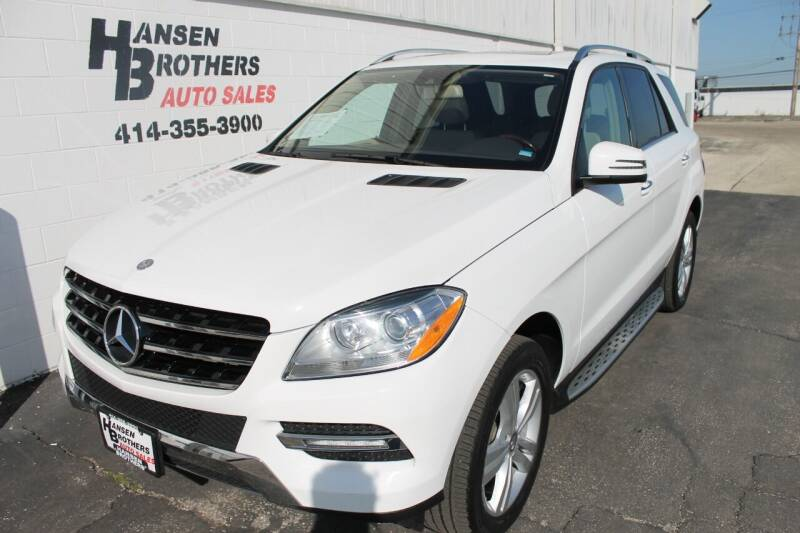 2015 Mercedes-Benz M-Class for sale at HANSEN BROTHERS AUTO SALES in Milwaukee WI