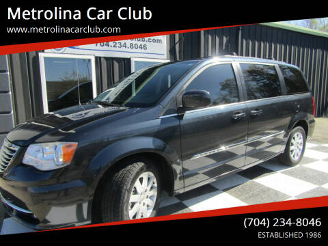 2014 Chrysler Town and Country for sale at Metrolina Car Club in Matthews NC