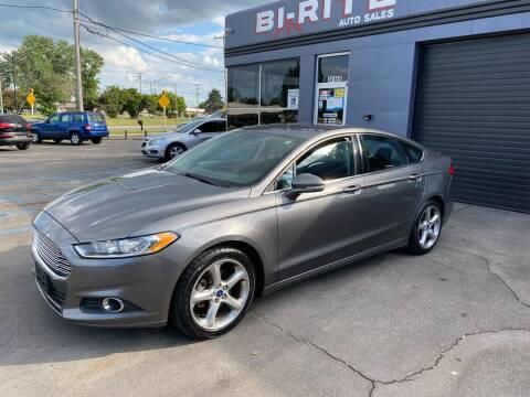 2014 Ford Fusion for sale at Bi-Rite Auto Sales in Clinton Township MI
