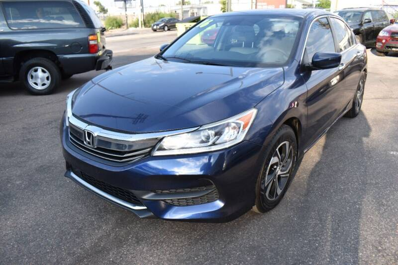 2016 Honda Accord for sale at Good Deal Auto Sales LLC in Denver CO