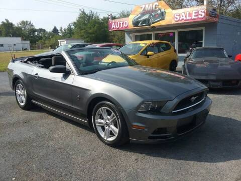 2014 Ford Mustang for sale at ZMC Auto Sales Inc. in Cedar Lake IN