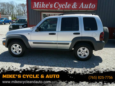 2005 Jeep Liberty for sale at MIKE'S CYCLE & AUTO in Connersville IN