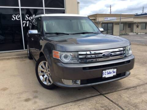 2009 Ford Flex for sale at SC SALES INC in Houston TX