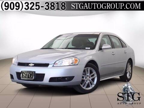 2016 Chevrolet Impala Limited for sale at STG Auto Group in Montclair CA