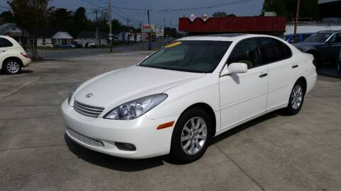 2004 Lexus ES 330 for sale at West Elm Motors in Graham NC