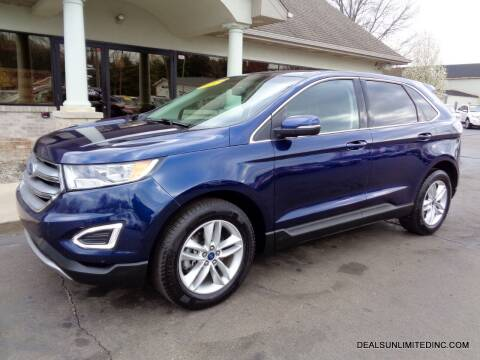 2016 Ford Edge for sale at DEALS UNLIMITED INC in Portage MI