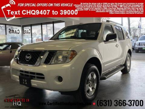 2011 Nissan Pathfinder for sale at CERTIFIED HEADQUARTERS in St James NY