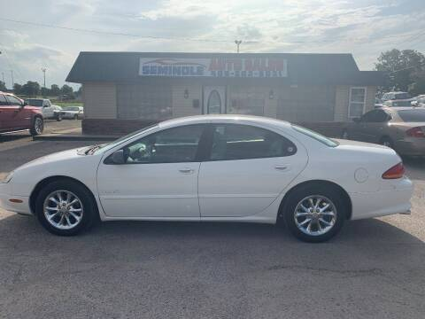 1999 Chrysler LHS for sale at Seminole Auto Sales in Seminole OK