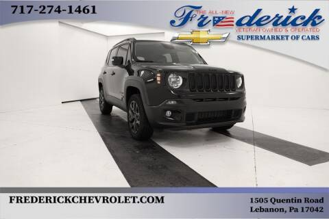2018 Jeep Renegade for sale at Lancaster Pre-Owned in Lancaster PA