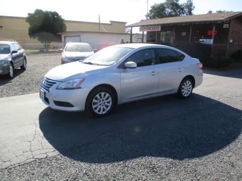 2013 Nissan Sentra for sale at Manzanita Car Sales in Gridley CA