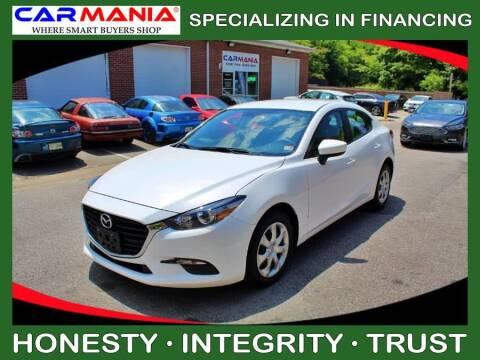 2017 Mazda MAZDA3 for sale at CARMANIA LLC in Chesapeake VA