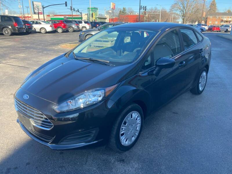 2015 Ford Fiesta for sale at RABIDEAU'S AUTO MART in Green Bay WI