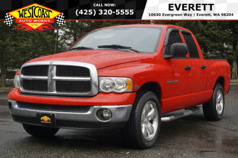 2004 Dodge Ram Pickup 1500 for sale at West Coast Auto Works in Edmonds WA